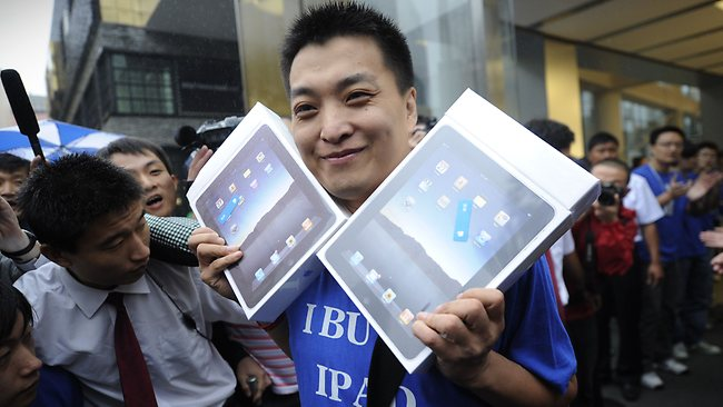 Apple iPad launch in China