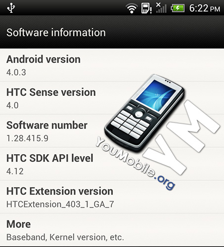 HTC One X Update