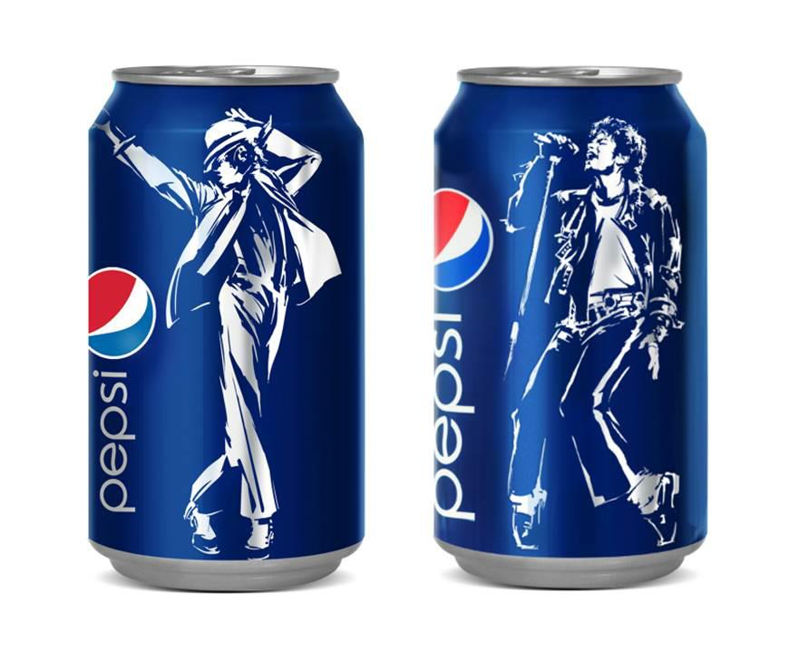 Pepsi Released A Limited Edition Michael Jackson Cans May