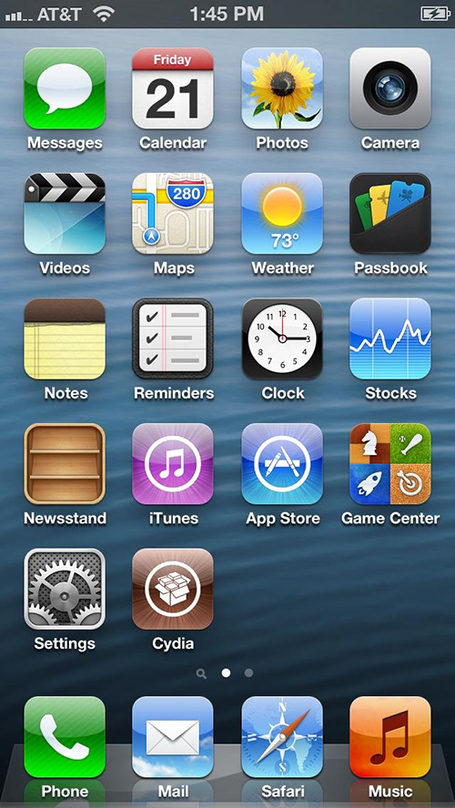 iphone 5 jailbreak cydia