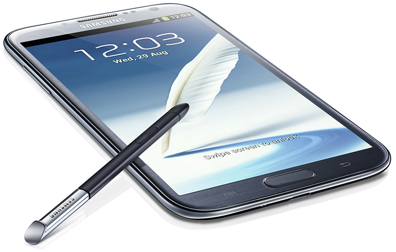 Galaxy Note II Grey