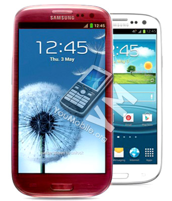 Galaxy S III RED