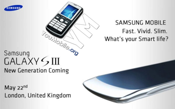 Galaxy S III Event
