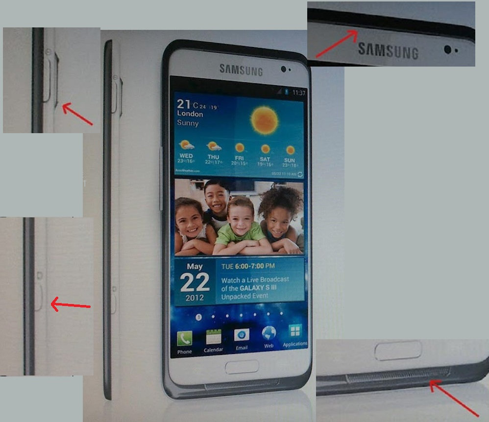 Galaxy S III Design Detailed
