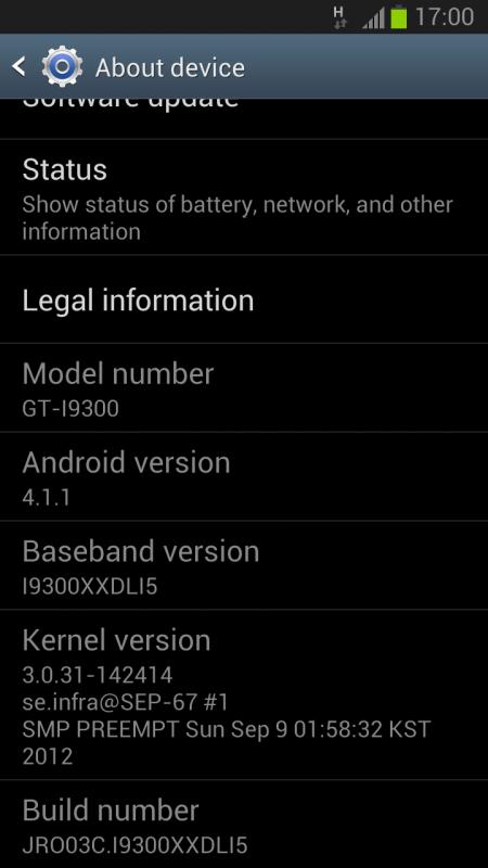 Galaxy S3 JB