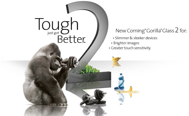 More than 1 billion device is packing corning gorilla glass