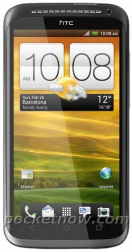 HTC One X Mock-up