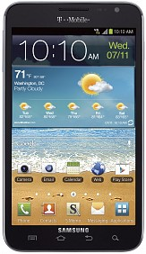 Galaxy Note for T-mobile