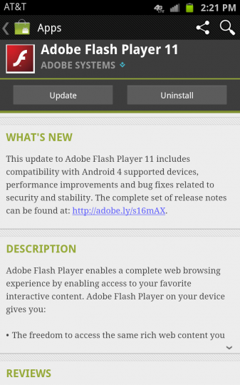 Flash for Android 11.1