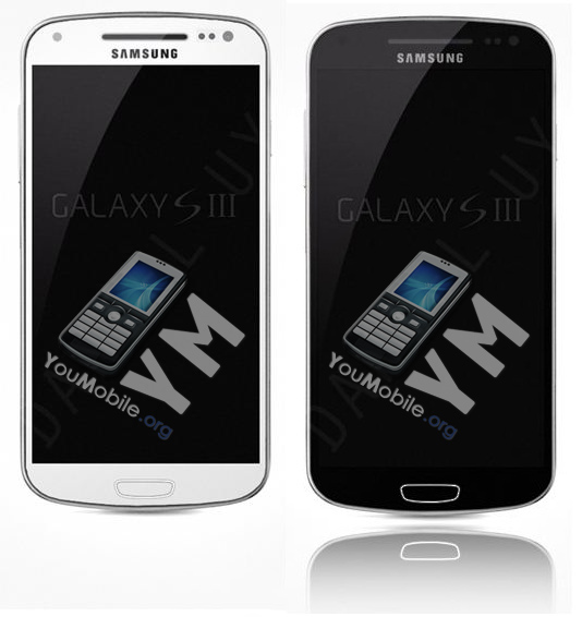 Galaxy S3 I9300 Black & White
