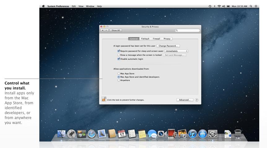 Mac OS X 10.8 lion