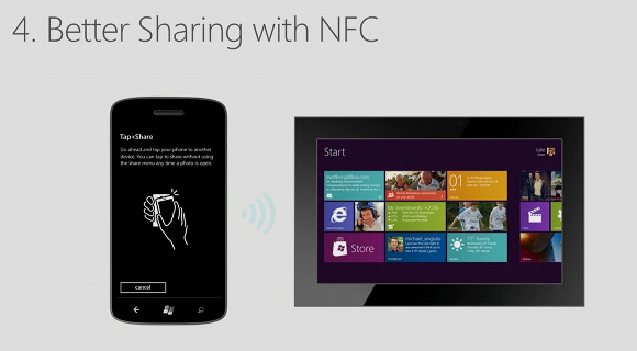 NFC windows phone 8