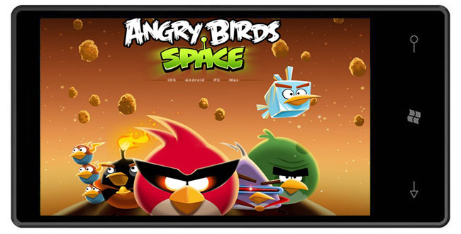 Angry Birds Space Coming To Windows Phone 7 Devices Soon