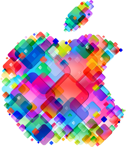 Apple New colors Logo