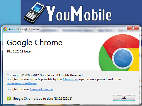 Chrome 18 BETA