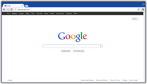 Chrome Metro UI