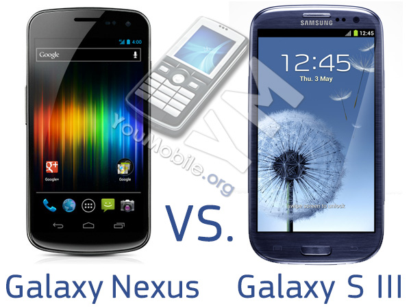 Galaxy s III vs. Nexus