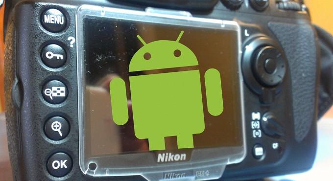 Nikon S800 Android