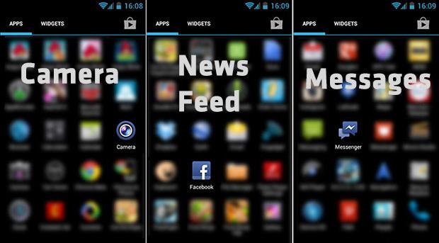Facebook 3 Apps