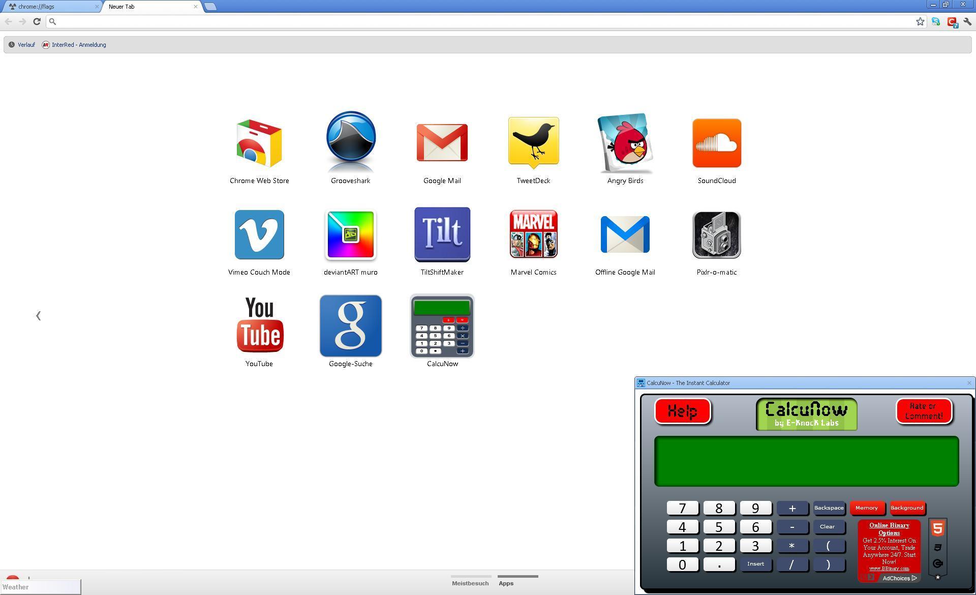 Chrome v36