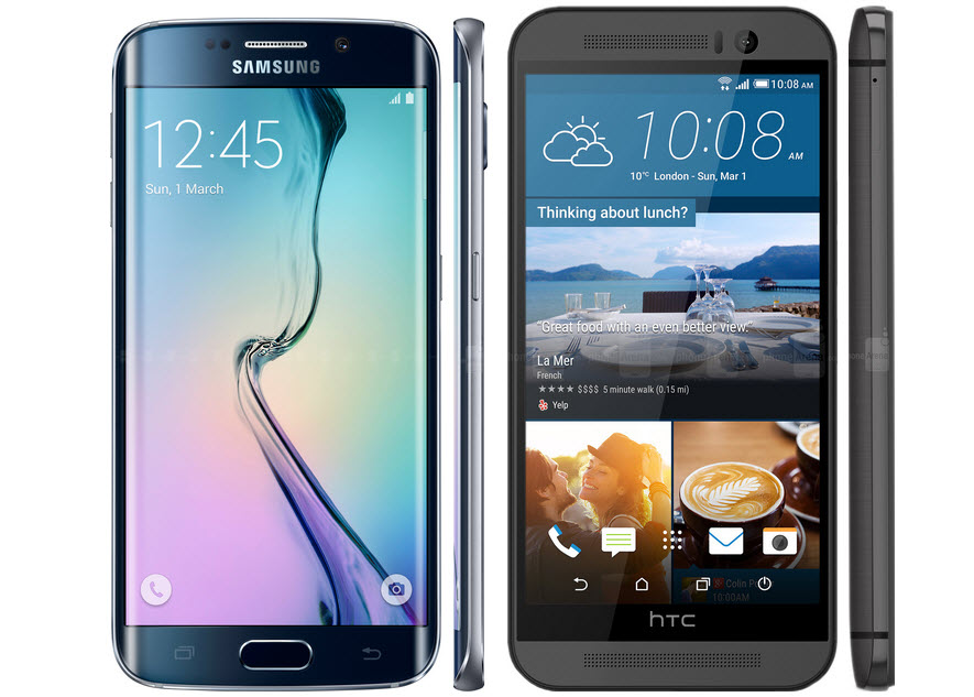 Galaxy S6 Edge vs. HTC M9