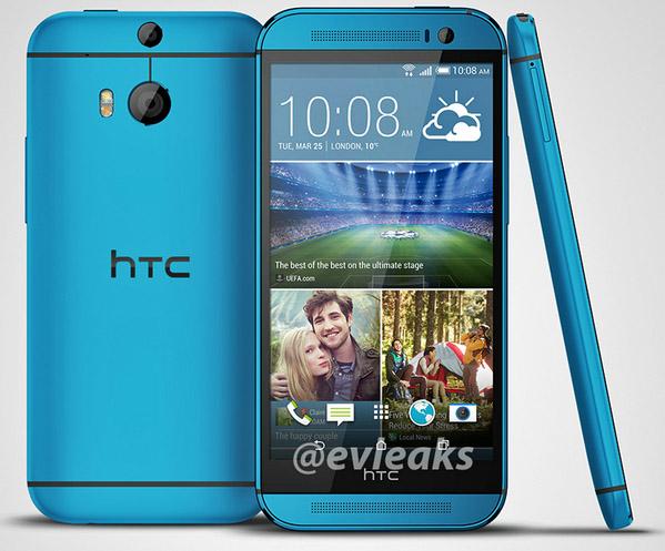 Blue HTC One M8