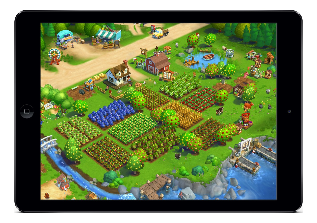 Farmvill 2 iOS
