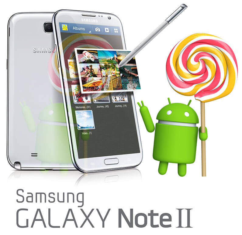 galaxy Note 2 official lollipop update confirmed release