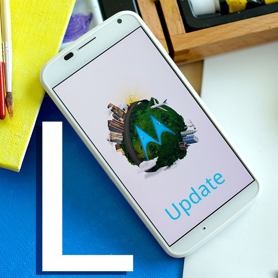 Moto X Android L update