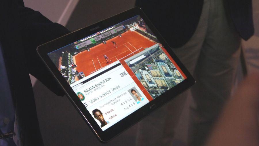 Samsung UHD Tablet