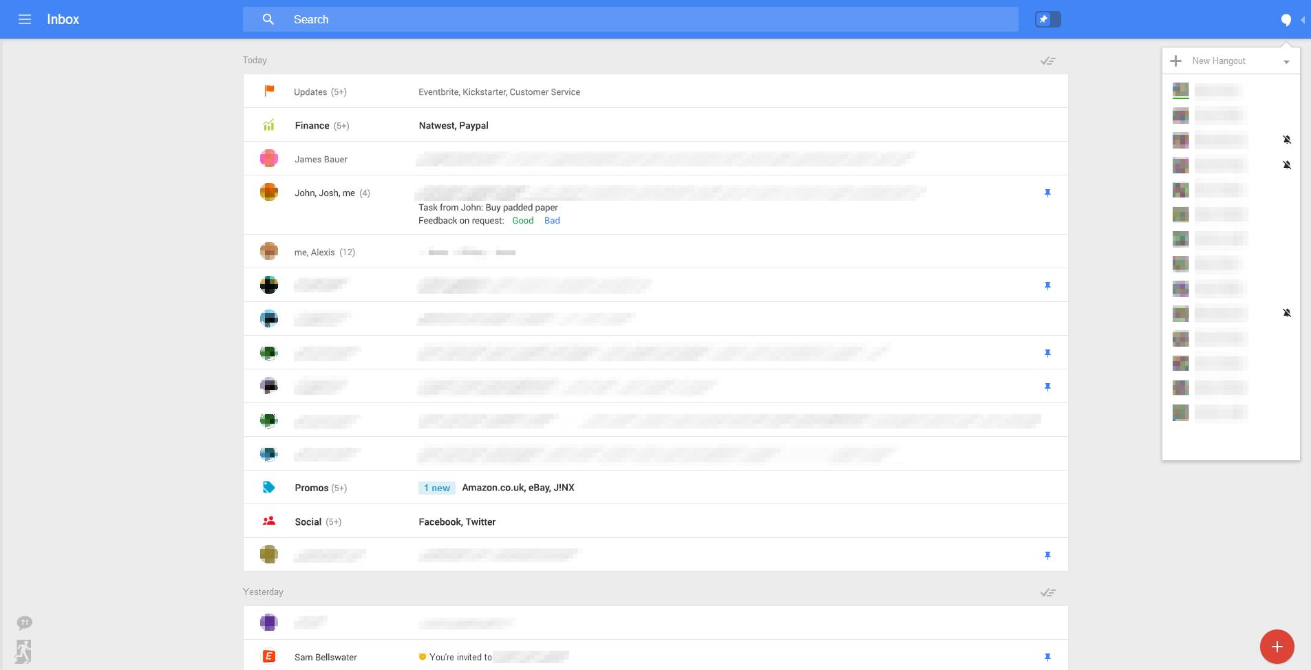 Gmail Web UI