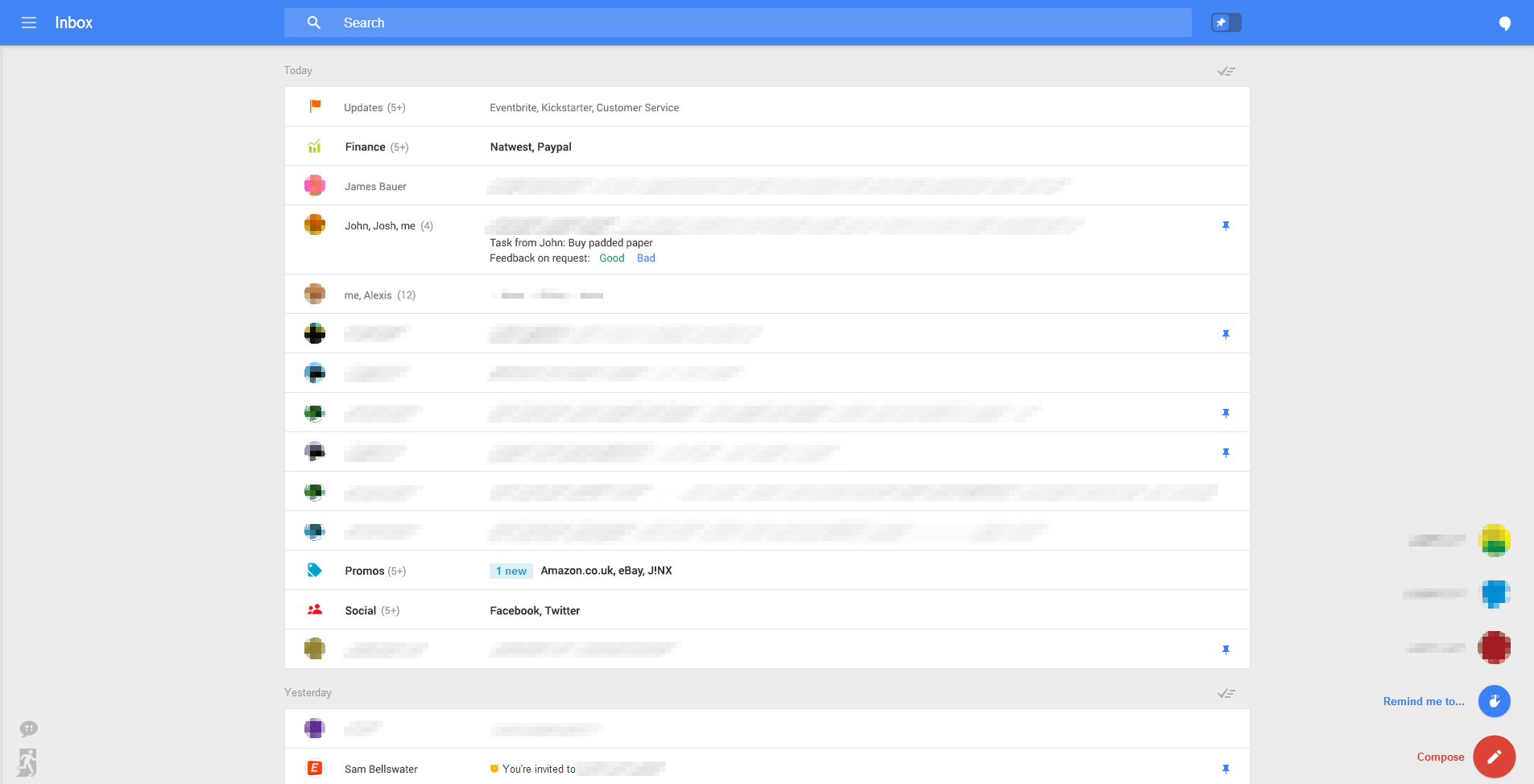 Gmail for web