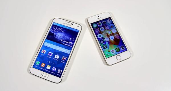 Galaxy S5 - iPhone 5s
