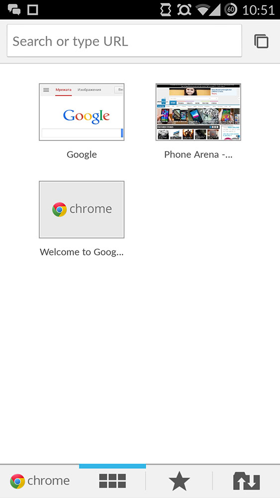 Google Chrome Beta with Android L Materiel Design UI Now Available