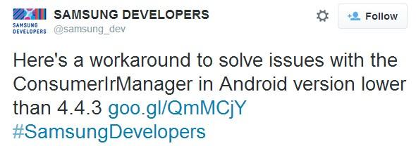 Samsung Dev 4.4.3