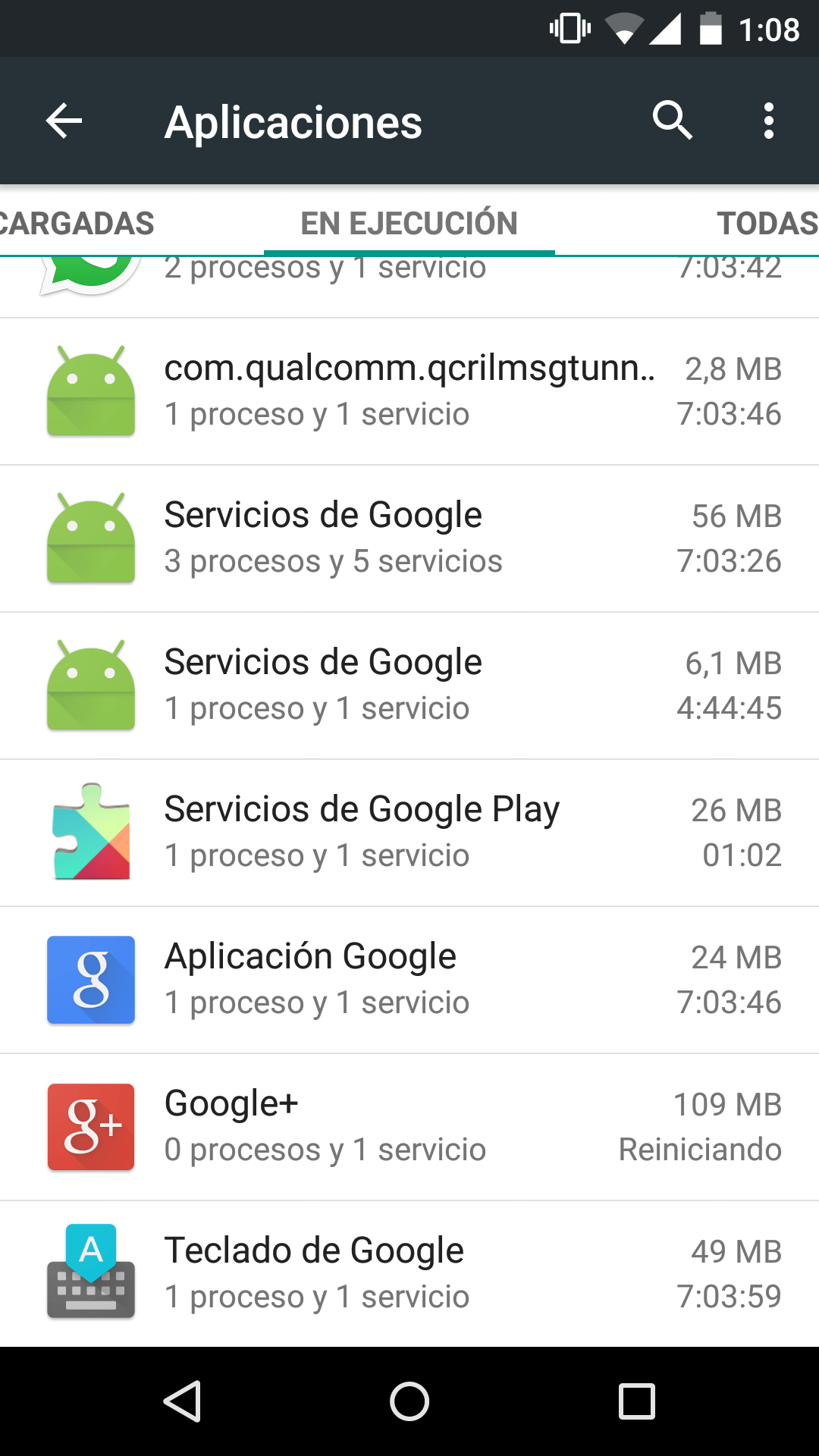 Android 5.1.1 lollipop bug