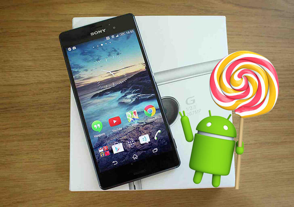 Sony Xperia android 5.0 Lollipop