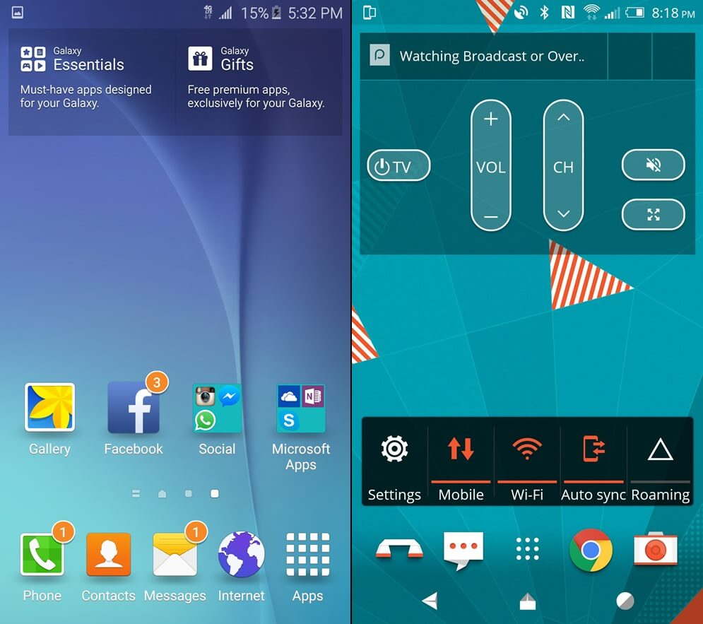 htc sense 7 vs touch wiz
