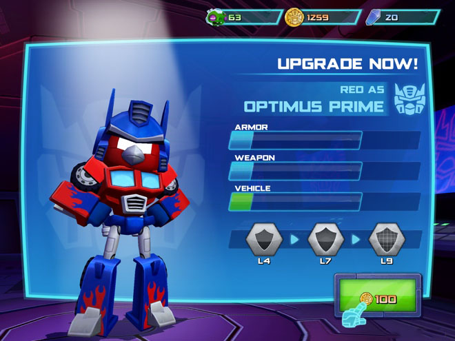 Angry Birds Transformers Coming Soon To Google Play Store