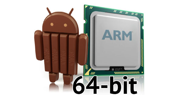 Android 64-bit SmartPhones