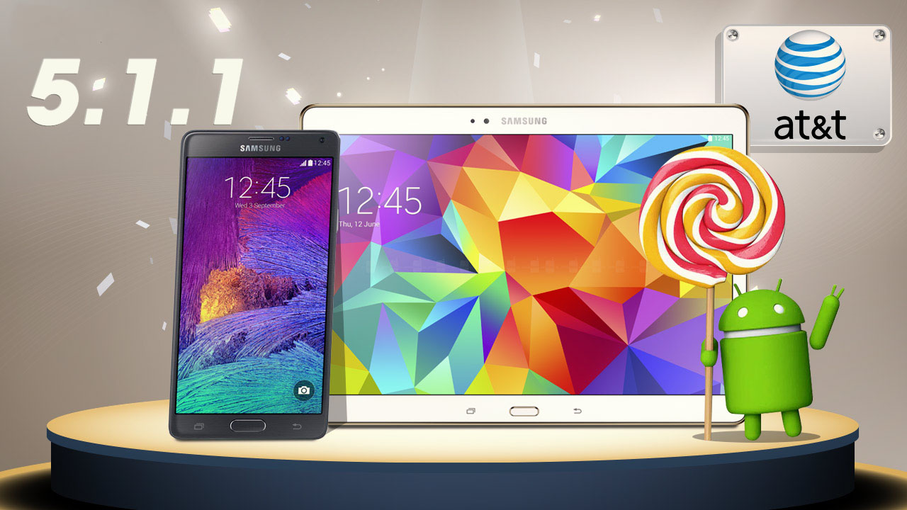 Galaxy tab 4 lollipop 5.1.1