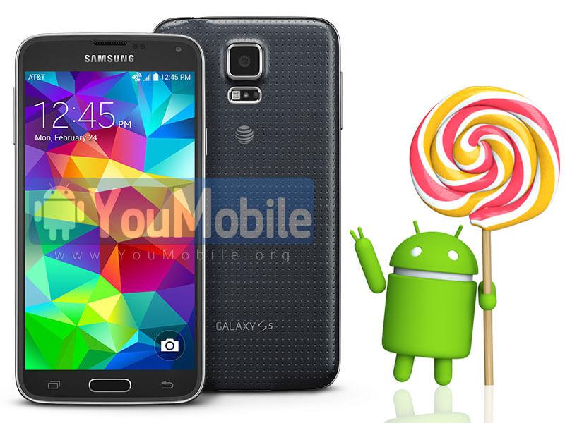Galaxy S5 att