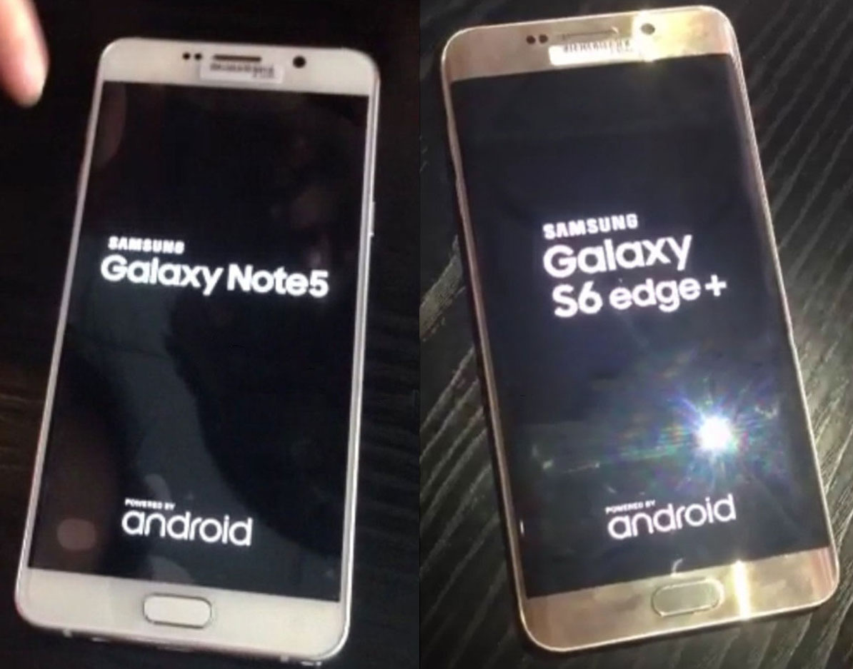Galaxy Note 5, Galaxy S6 edge+