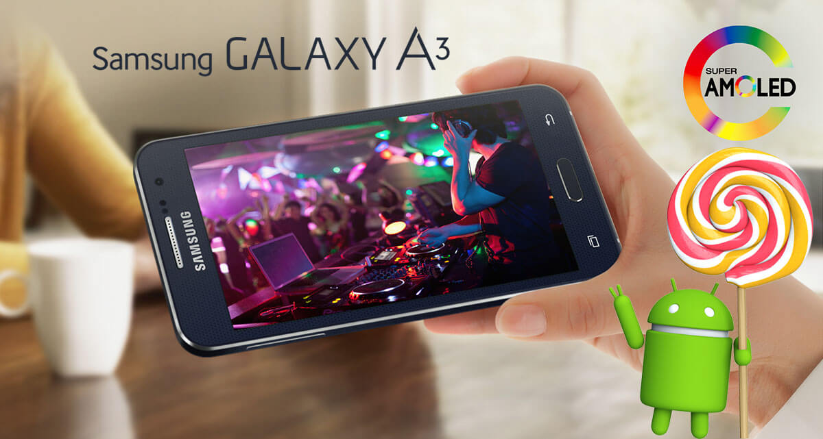 Galaxy A lollipop