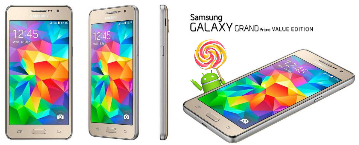 Firmware Download] New Samsung Galaxy Grand Prime VE (SM