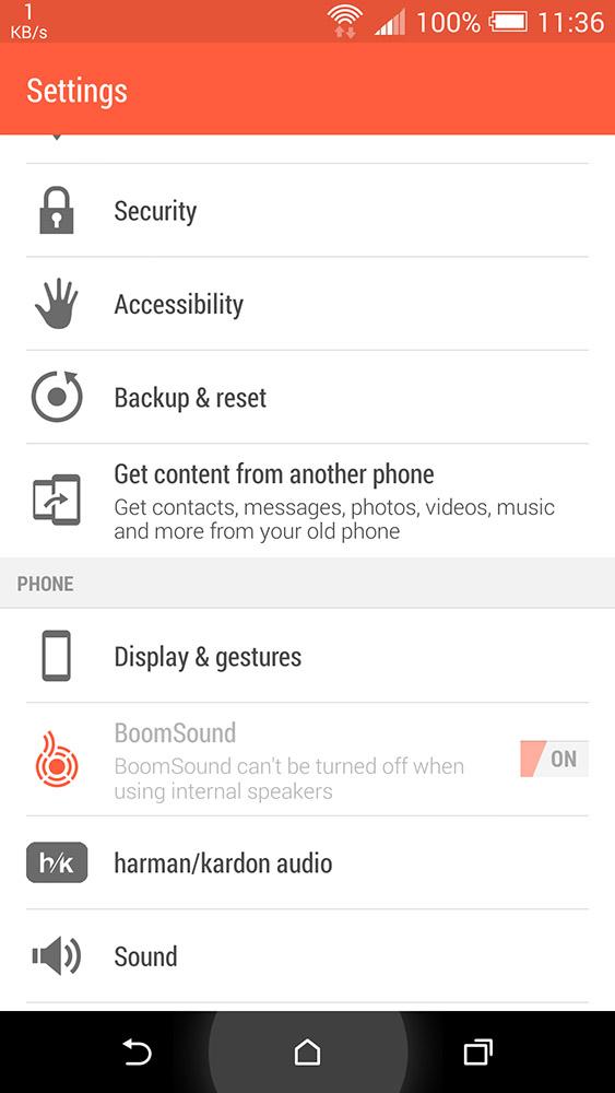 HTC One M8 H/K