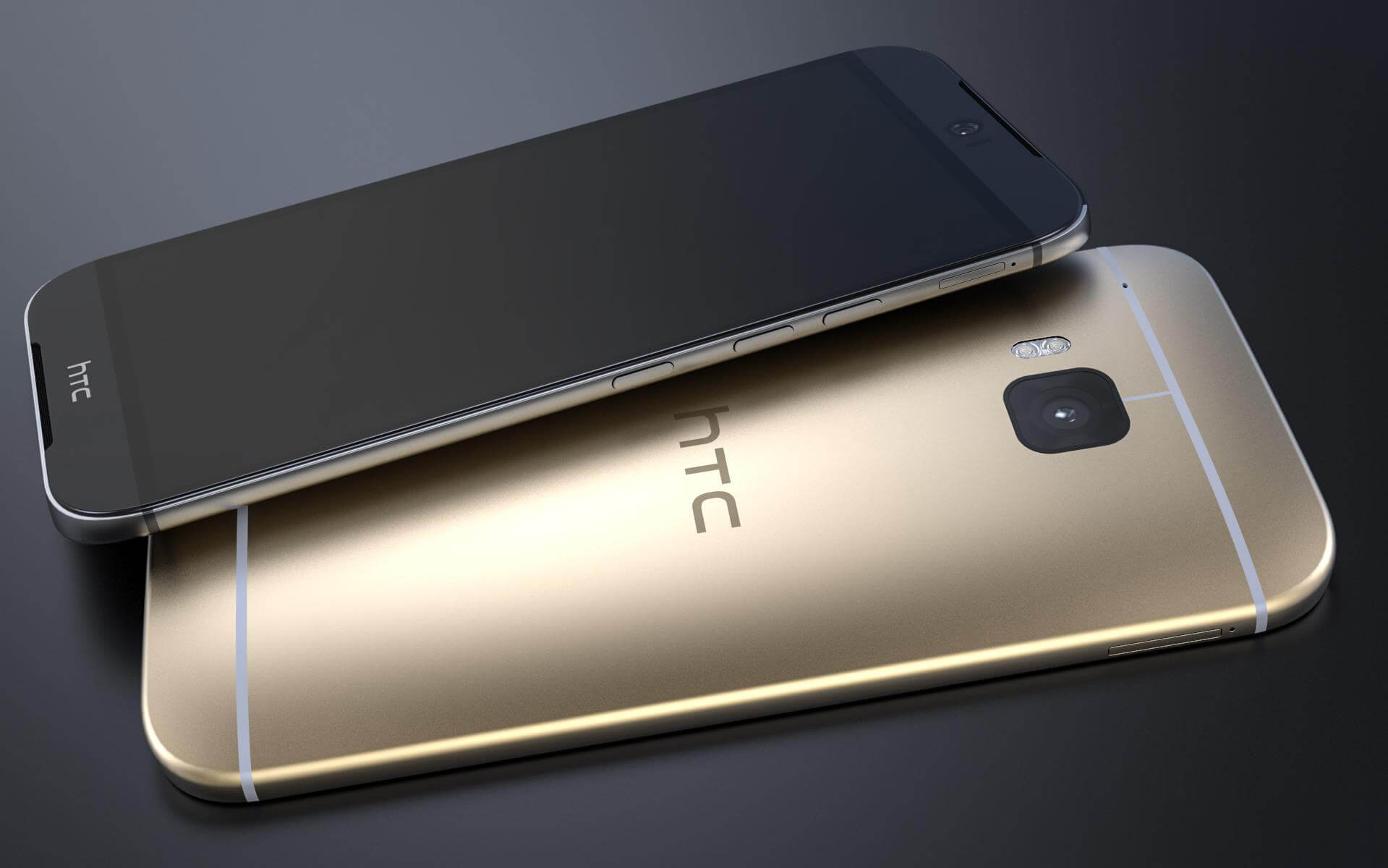 HTC One (M9) will launch with 3 Color combinations