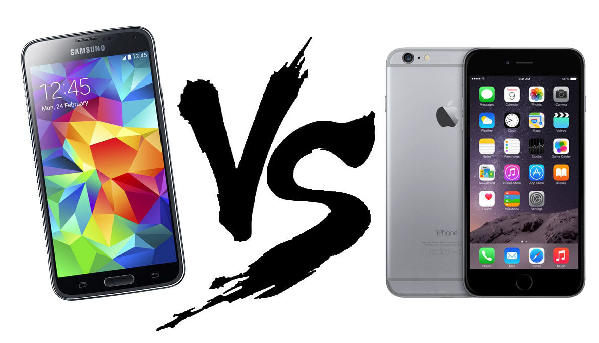 Galaxy S5 vs. iPhone 6