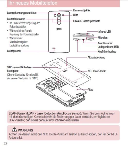 Lg G3 Mini  Aka G3 S  User Manual Leaked