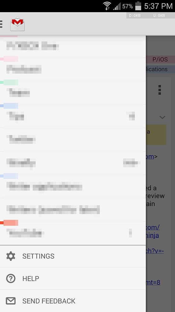 Gmail 4.8